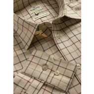 Hoggs Mens Shirt. Chiefton - Lovat