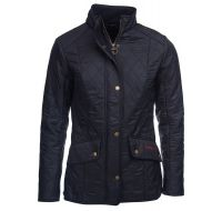 Barbour Ladies Jacket. Cavalry Polarquilt - Navy