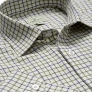 Hoggs Mens Shirt. Pure Cotton Tattersall