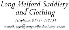 Welcome to Long Melford Saddlery - Long Melford Saddlery